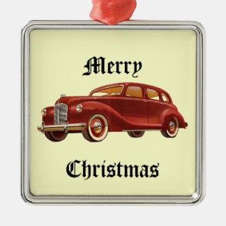 Ornamento da árvore de Natal do carro vintage