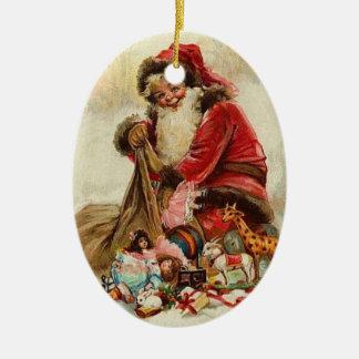 Ornamento da árvore do natal vintage