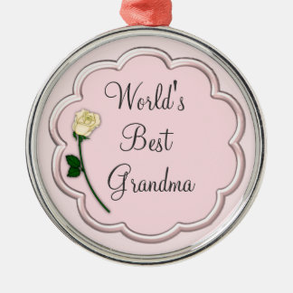 Ornamento da avó do mundo o melhor