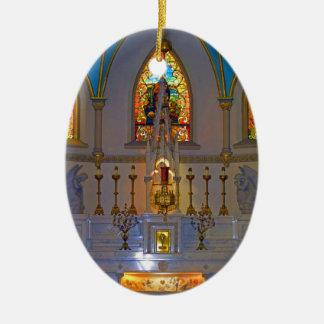 Ornamento da balsa dos harpistas de St Peter