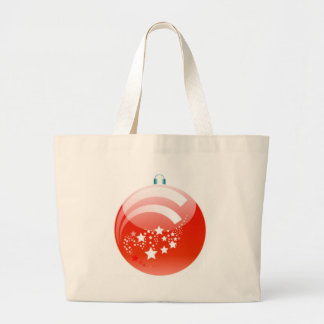 Ornamento da bola do Natal Bolsa De Lona