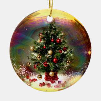 Ornamento da bolha da árvore de Natal