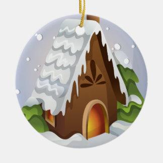 Ornamento da casa do Natal
