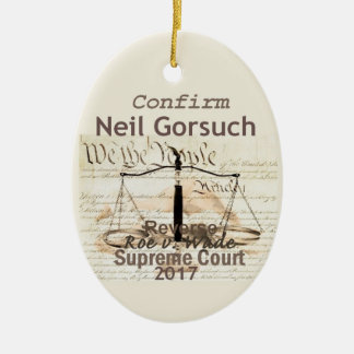 Ornamento da corte suprema de Neil GORSUCH