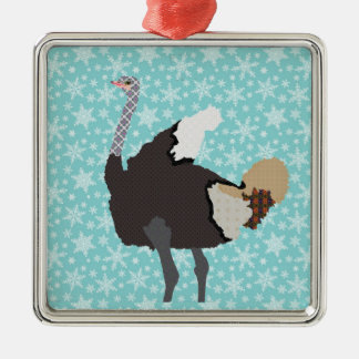 Ornamento da dança de Ostriche