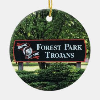 Ornamento da escola de Forest Park