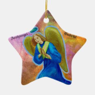 Ornamento da estrela: Arcanjo Gabriel