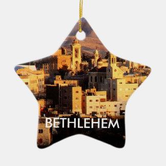 Ornamento da estrela de Bethlehem