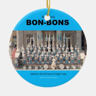 Ornamento da foto dos anos 60 do bombom