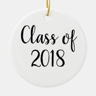 Ornamento da graduação - classe do ornamento 2018