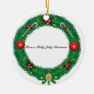 Ornamento da grinalda do Natal