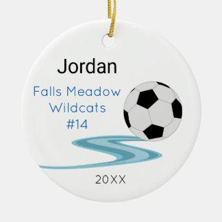 Ornamento da lembrança do futebol