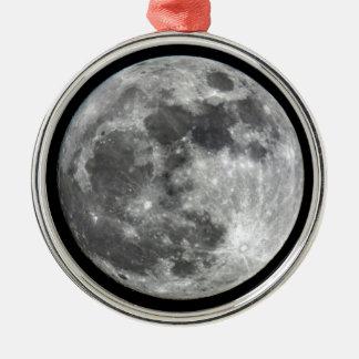 Ornamento da lua de Supermoon