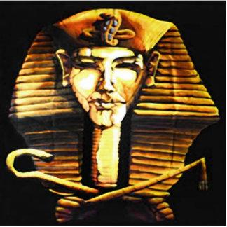 Ornamento da mesa de Akhenaten Foto Escultura