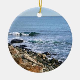 Ornamento da onda de oceano