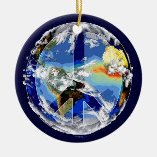 Ornamento da paz de mundo