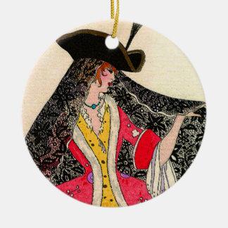 Ornamento da senhora círculo de Veneza