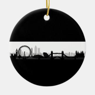 Ornamento da skyline de Londres