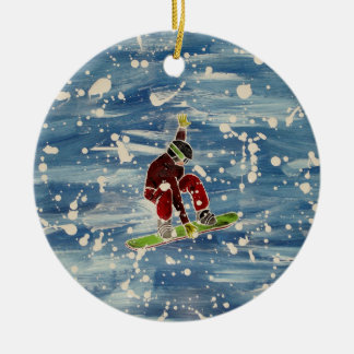 Ornamento da snowboarding