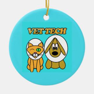ornamento da tecnologia do veterinário