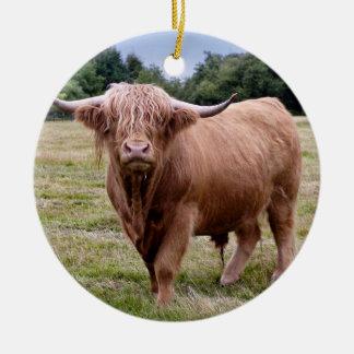 Ornamento da vaca das montanhas