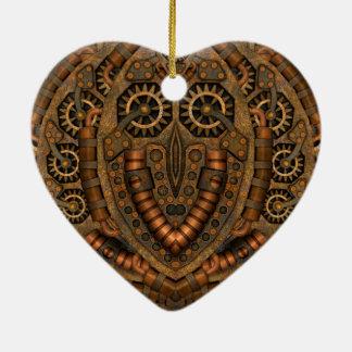 Ornamento dado forma coração do vintage de