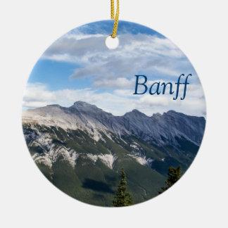 Ornamento das montanhas rochosas - Banff