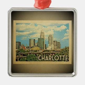 Ornamento das viagens vintage de Charlotte North