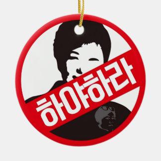 Ornamento De Cerâmica 박근혜 PARA FORA - Park Geun-hye PARA FORA!