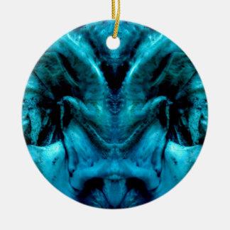 Ornamento De Cerâmica 038-2-2ablue dämon 2