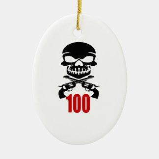 Ornamento De Cerâmica 100 designs do aniversário