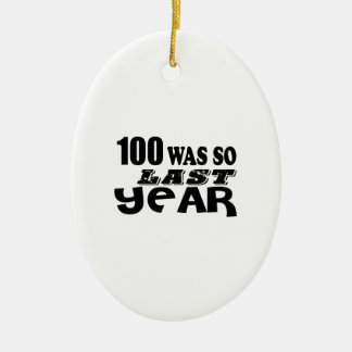 Ornamento De Cerâmica 100 eram assim tão no ano passado design do