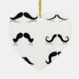 Ornamento De Cerâmica 116Set de Mustaches_rasterized