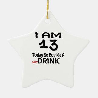 Ornamento De Cerâmica 13 hoje compre-me assim uma bebida
