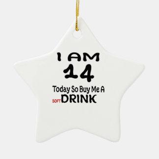 Ornamento De Cerâmica 14 hoje compre-me assim uma bebida