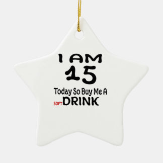 Ornamento De Cerâmica 15 hoje compre-me assim uma bebida