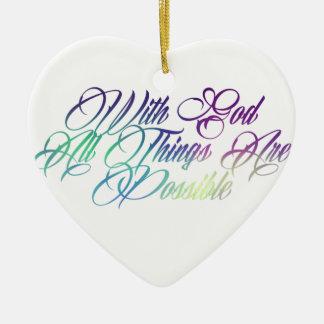 Ornamento De Cerâmica 19:26 de Matthew