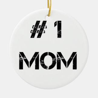 Ornamento De Cerâmica # 1 mamãe da mãe da mamã