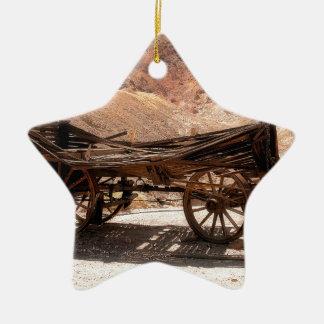 Ornamento De Cerâmica 2010-06-28 old_wagon da cidade fantasma da chita