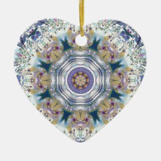 Ornamento De Cerâmica 29Mandalas do coração da liberdade 29 presentes
