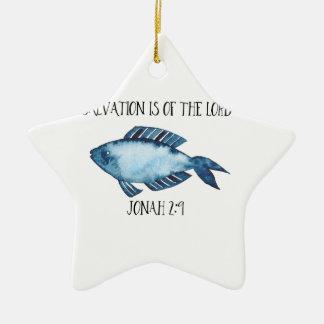 Ornamento De Cerâmica 2:9 de Jonah