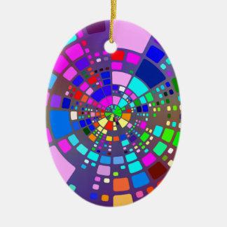 Ornamento De Cerâmica #2 psicadélico