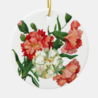 Ornamento De Cerâmica 3800 carnation1