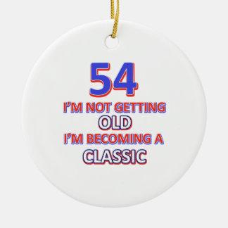 Ornamento De Cerâmica 54 designs do aniversário