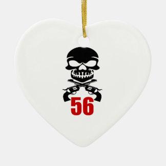 Ornamento De Cerâmica 56 designs do aniversário