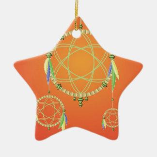 Ornamento De Cerâmica 74Dream Catcher_rasterized