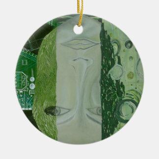 Ornamento De Cerâmica 7 dimensões em um lugar