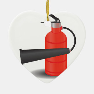Ornamento De Cerâmica 90Fire Extinguisher_rasterized