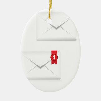 Ornamento De Cerâmica 91Mailbox Icon_rasterized alerta