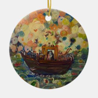 Ornamento De Cerâmica A arca de Noah por Avonelle Kelsey